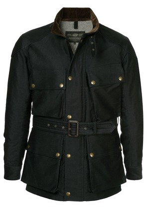 Addict Clothes Japan military belted jacket - Blue