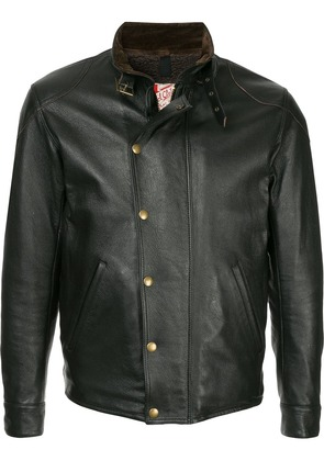 Addict Clothes Japan vintage style biker jacket - Black