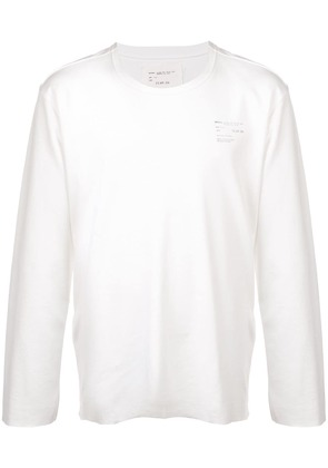 Camiel Fortgens long sleeved top - White