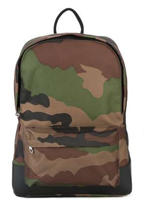 A.P.C. camouflage print backpack - Green