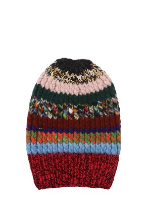 KNIT BEANY HAT