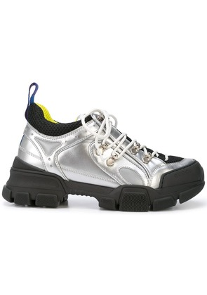 Gucci flashtrek sneakers - Silver