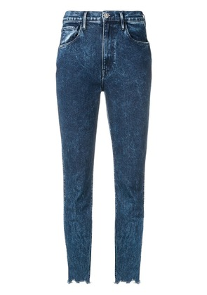 3x1 cropped skinny jeans - Blue