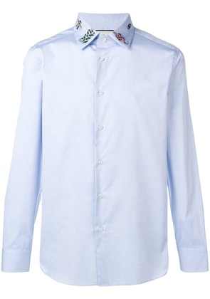 Gucci perfectly fitted shirt - Blue
