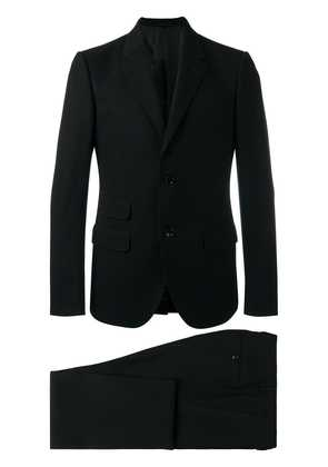 Gucci embroidered suit - Black