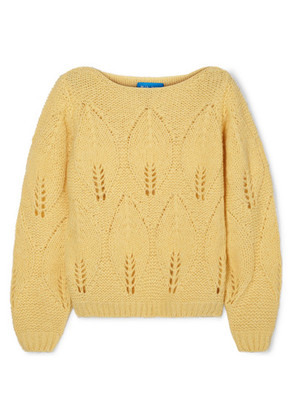 M.i.h Jeans - Lacey Knitted Sweater - Yellow