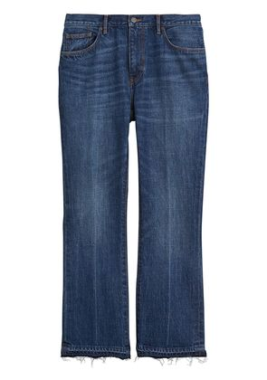 Burberry Slim Fit Bootcut Jeans - Blue