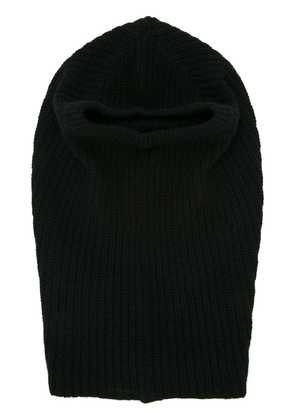 First Aid To The Injured knitted hoodie - Black