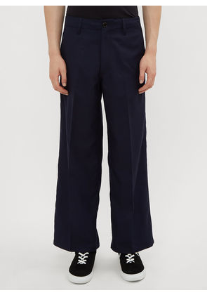 Marni Twill Pants in Navy size EU - 46