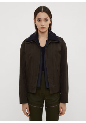 Atlein Cropped Double Layer Jacket in Black size FR - 38
