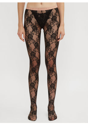 Gucci Lace Tights in Black size M