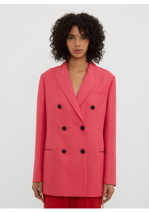 Valentino Double Breasted Blazer in Pink size IT - 42