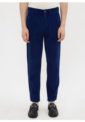 Gucci Corduroy Pants in Blue size 32