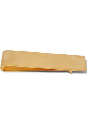 The Row - Engraved Gold-tone Money Clip - Brass
