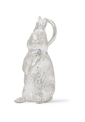 Bunney - Sterling Silver Rabbit Pendant - Silver