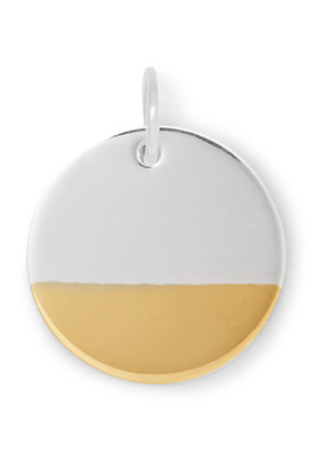 Bunney - Gold-plated Sterling Silver Pendant - Silver
