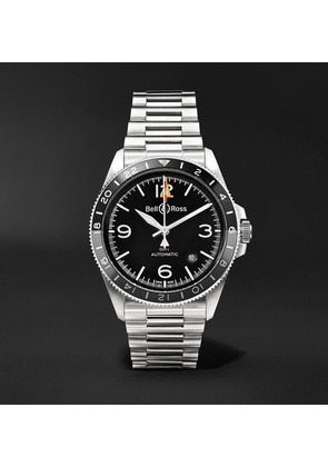 Br V2-93 Gmt Automatic 41mm Stainless Steel Watch
