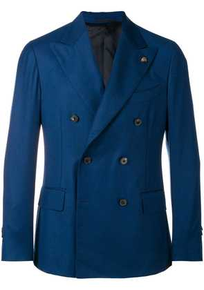 Gabriele Pasini double-breasted fitted blazer - Blue