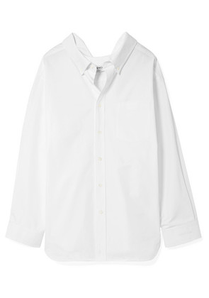 Balenciaga - Swing Cotton-poplin Shirt - White