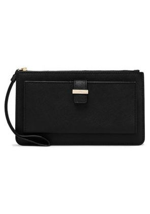 Kate Spade New York Woman Textured-leather Pouch Black Size -