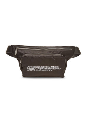 CALVIN KLEIN 205W39NYC Fanny Pack with Leather