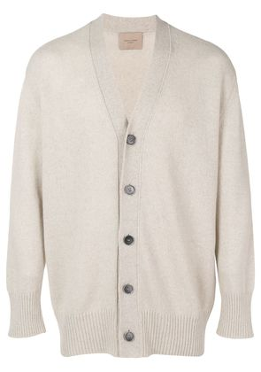 Federico Curradi knit cardigan - Neutrals