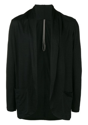 Attachment loose fit cardigan - Black