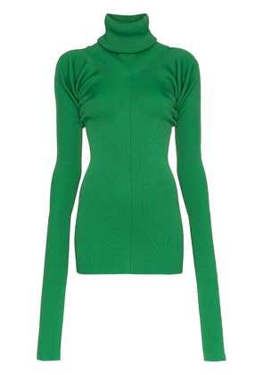 Marni Knit roll-neck top - Green