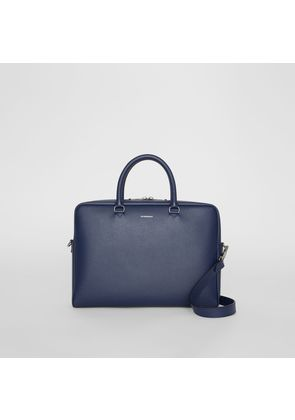 Burberry London Leather Briefcase, Blue