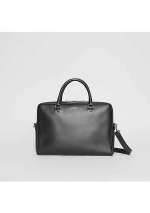 Burberry London Leather Briefcase, Black