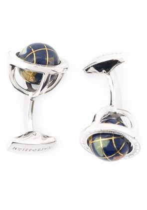 Tateossian 'Globe cage' cufflinks - Black