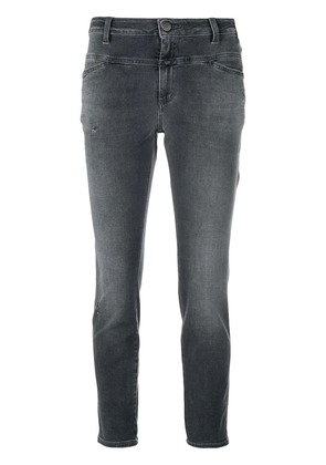 Closed low-rise cropped jeans - Grey