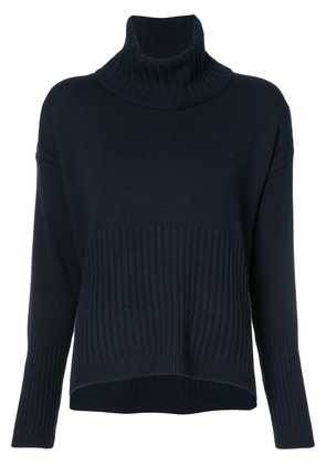 Derek Lam 10 Crosby Bond Turtleneck Sweater - Blue