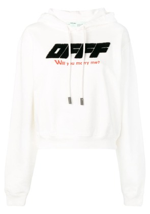 Off-White 'Will you marry me' hoodie