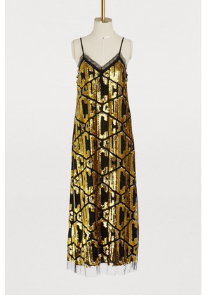 Gucci game sequins dress