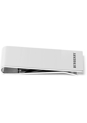 Burberry - Silver-tone Money Clip - Silver