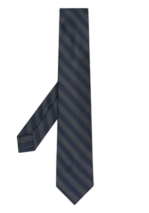 Barba striped tie - Blue