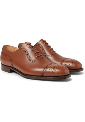 Adam Full-grain Leather Oxford Brogues