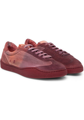 Lars Canvas And Suede Sneakers