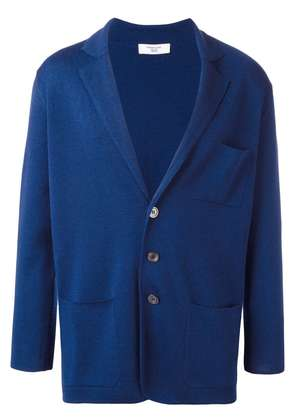Fashion Clinic Timeless three button cardigan - Blue