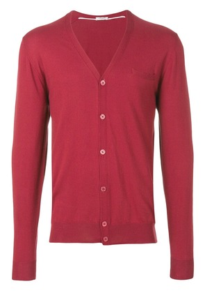 Paolo Pecora V-neck cardigan - Red