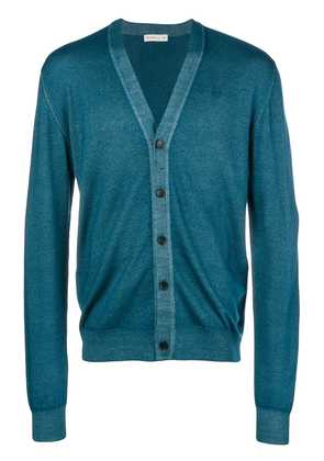 Etro long sleeved cardigan - Blue