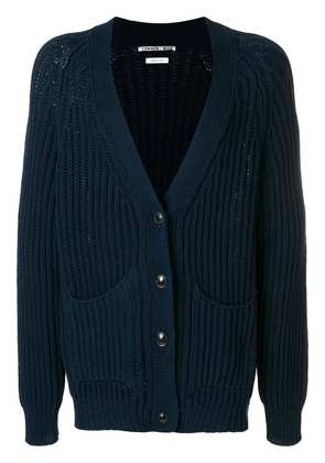 Common Wild knitted buttoned cardigan - Blue