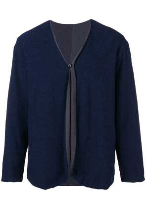 Ts(S) classic slim-fit cardigan - Blue