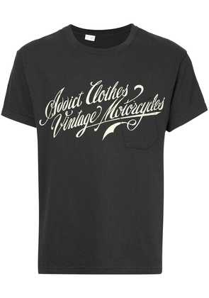 Addict Clothes Japan logo print T-shirt - Black