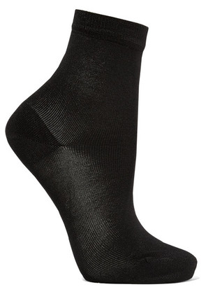 Maria La Rosa - Silk-blend Socks - Black