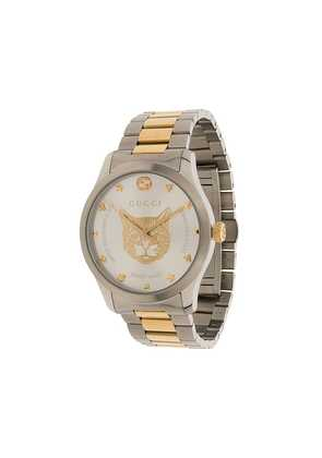 Gucci G-Timeless link strap stainless steel watch - Silver