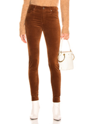 AG Adriano Goldschmied Farrah Skinny in Brown