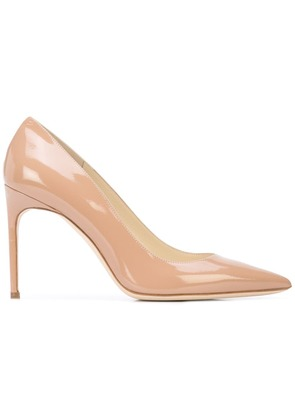 Brian Atwood classic pointed pumps - Brown