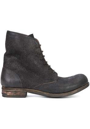 A Diciannoveventitre lace-up ankle boots - Brown